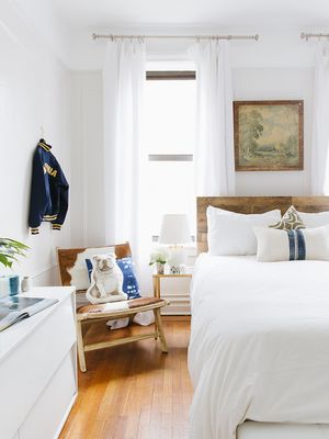This Crazy Bedroom Makeover Proves You Don't Need a Big Budget to Get High Style