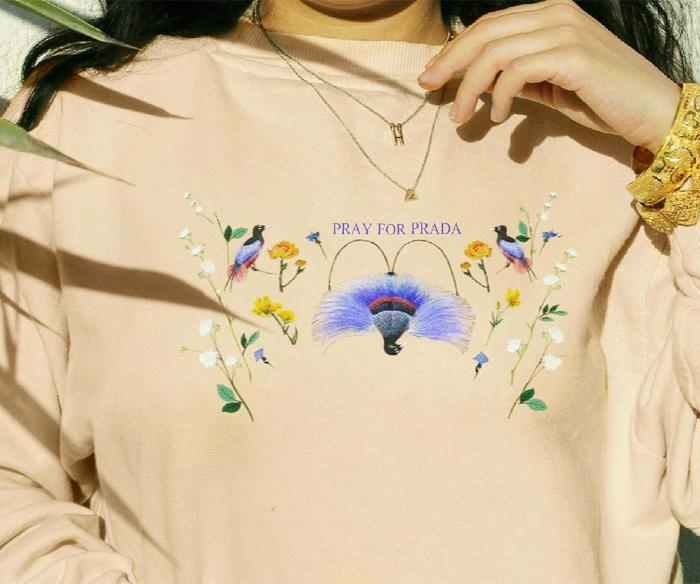 Dana Frid T Shirts: Pray for Prada