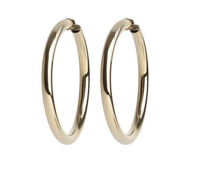 Gold Jennifer Fisher Hoop Earrings