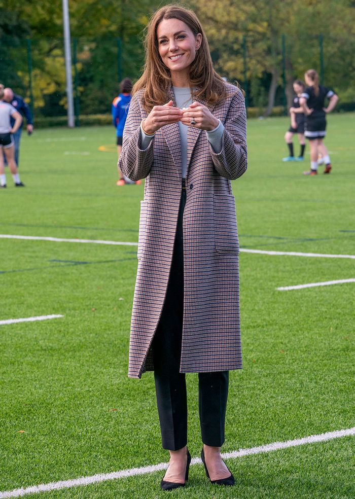 Kate Middleton style: Massimo Dutti coat