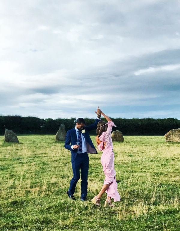 What to wear to a country wedding: Millie Mackintosh