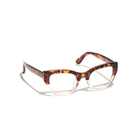 Cat-Eye Clear Glasses