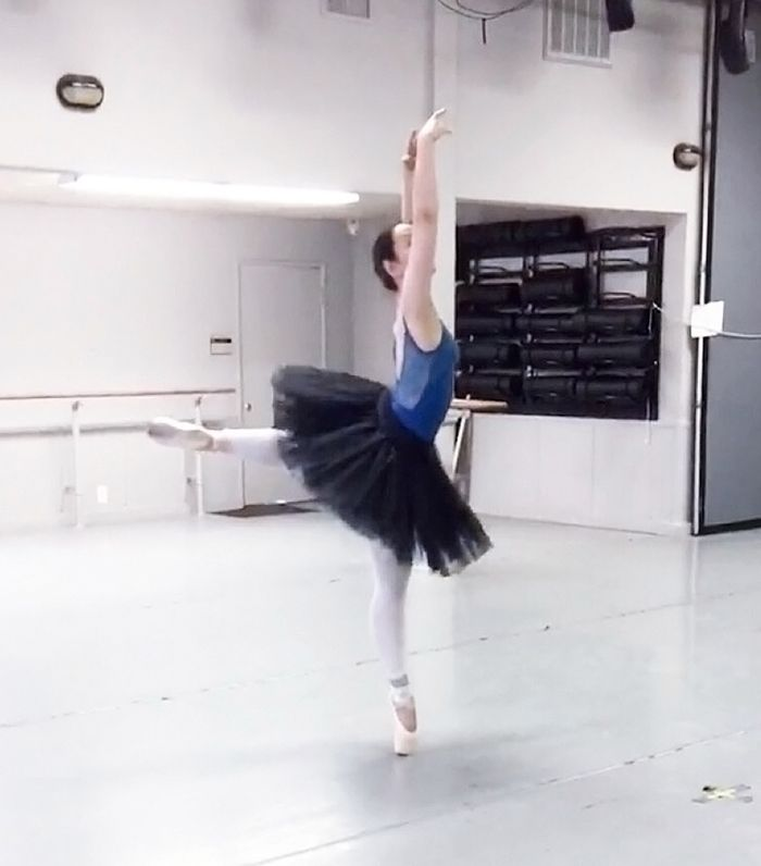A Day in the Life of a Vegan Ballerina