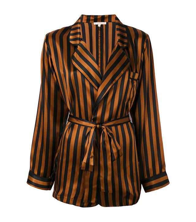 Gold Hawk Striped Pyjama Jacket