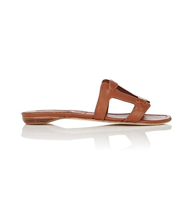 Women's Grella Leather Slide Sandals