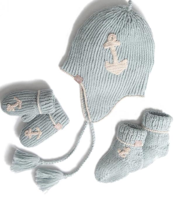 Samantha Holmes Alpaca Alpaca Baby Boy Gift Set