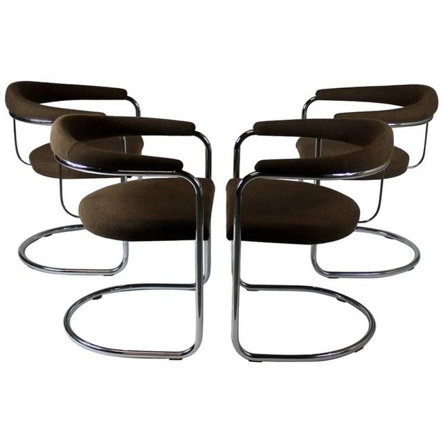 Anton Lorenz for Thonet Pair of Chairs