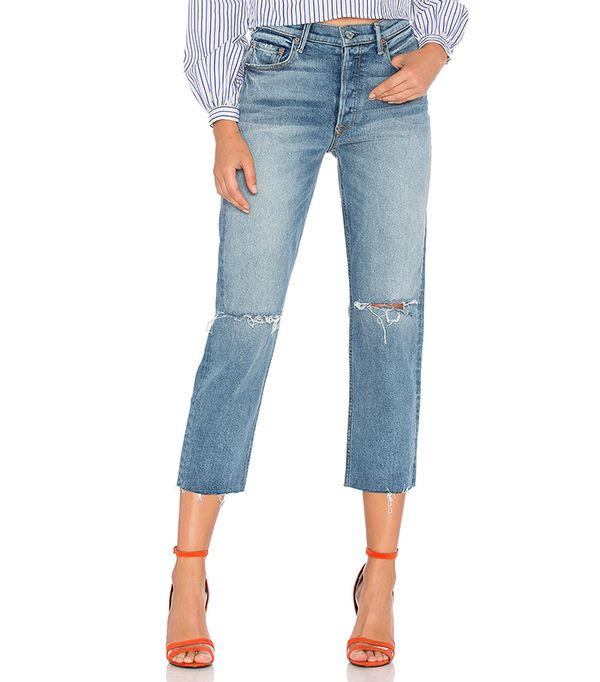 Helena High-Rise Straight Crop. - size 28 (also in 25,26,27,29,30)