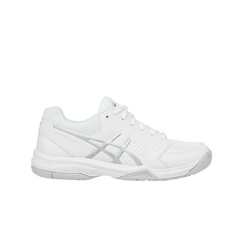 Women's Gel-Dedicate 5 Tennis Shoes White and Silver