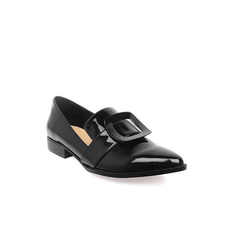 Tibby Patent Buckle Loafers
