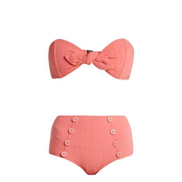 Poppy high-rise bikini