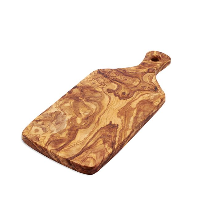Sur la Table Italian Olivewood Slice Cheese Paddle