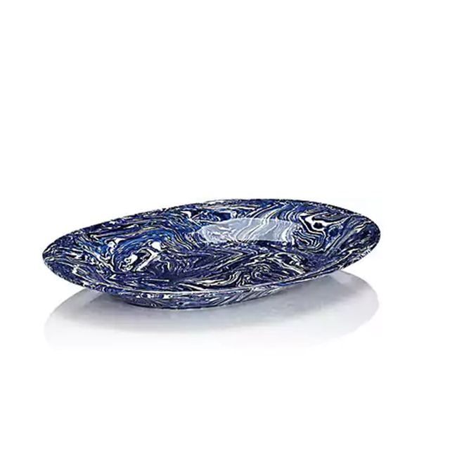 Ebru Serving Platter