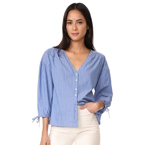 Morningview Tie Sleeve Shirt