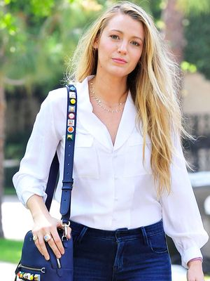 Blake Lively Just Proved How Flattering Old Navy's New Skinny Jeans Are