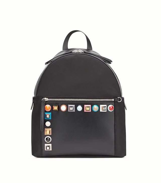multicolour stud mini backpack