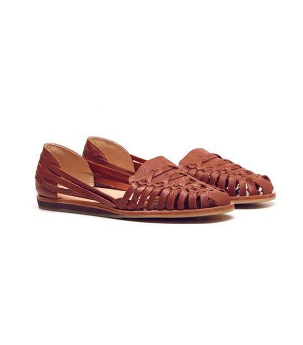 walking sandals Nisolo Ecuador Huarache Sandal