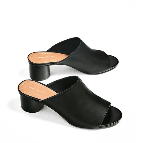 Leather Mules