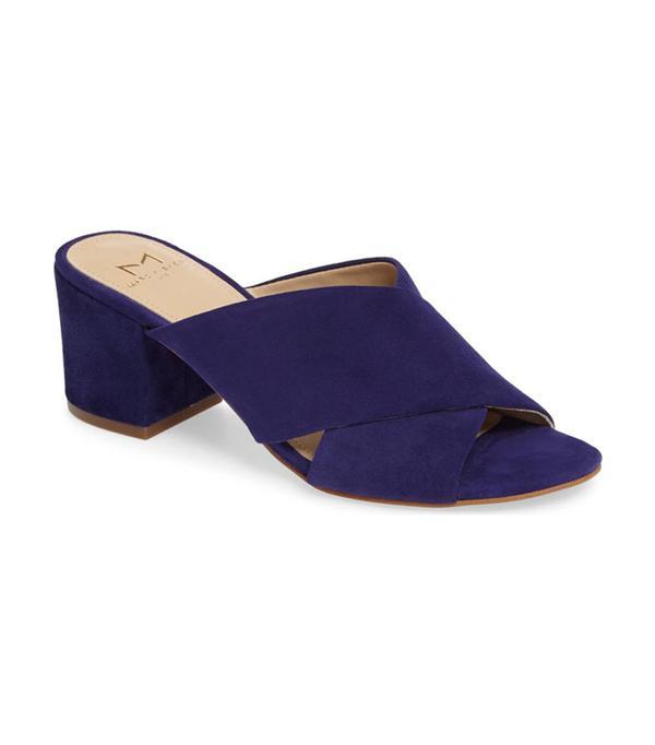 walking sandals Marc Fisher Ltd Rinna Crisscross Slide