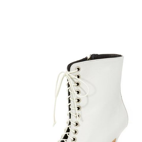 The Delancey Lace-Up Booties