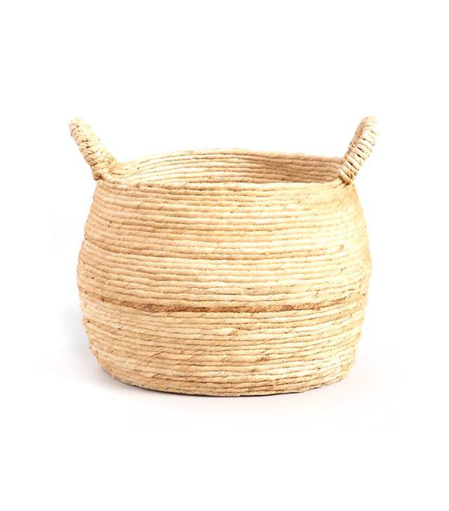 Large Banana Delilah Tote Basket by World Market