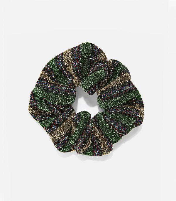 Mini Glitter Hair Scrunchie