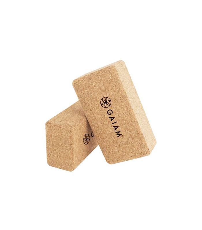 Cork Yoga Block by Gaiam