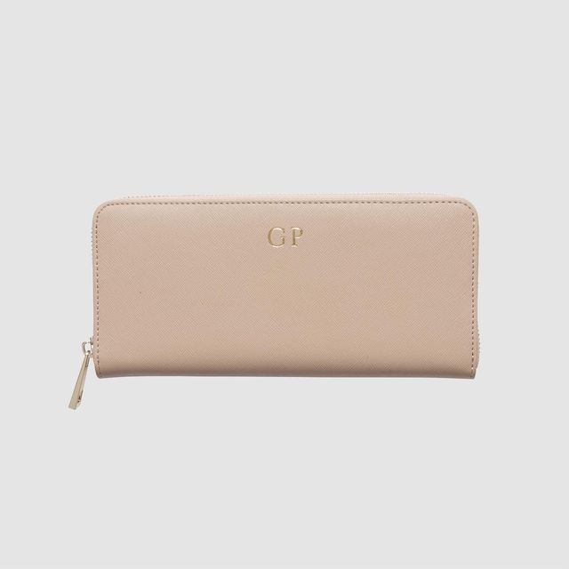 The Daily Edited Taupe Continental Wallet