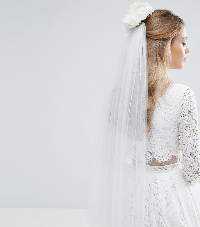 affordable wedding veil