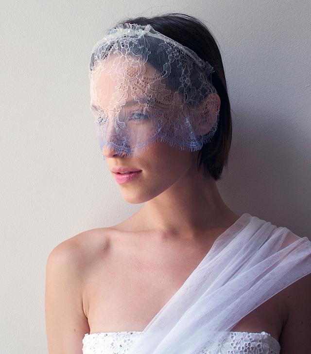 lace wedding veils