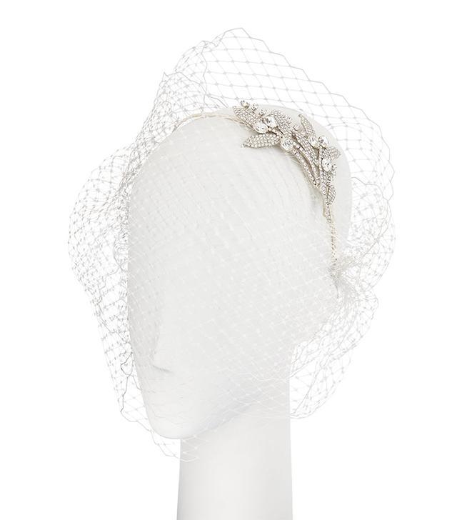 netted wedding veils
