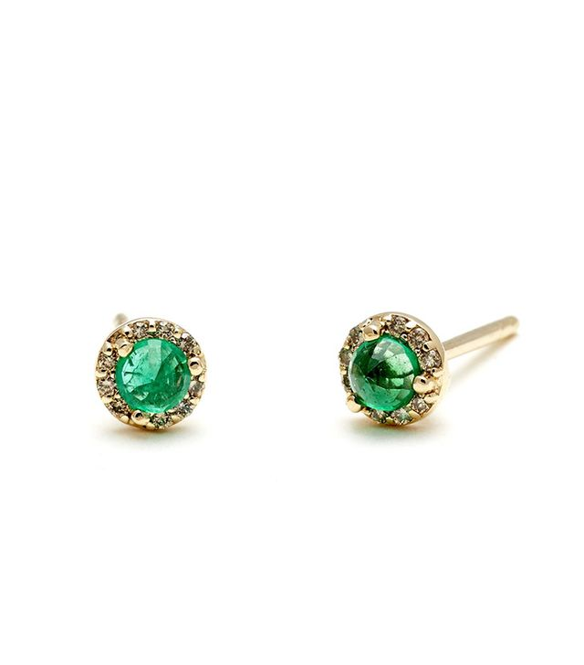 Anna Sheffield Rosette Stud Earrings