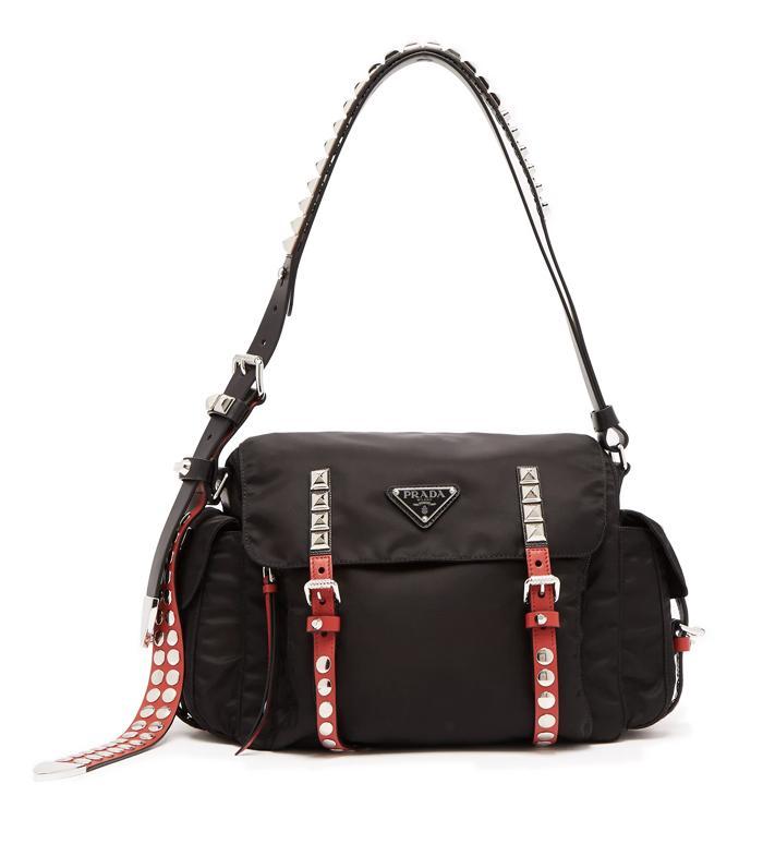 Prada Nylon Double-Zip Belt Bag