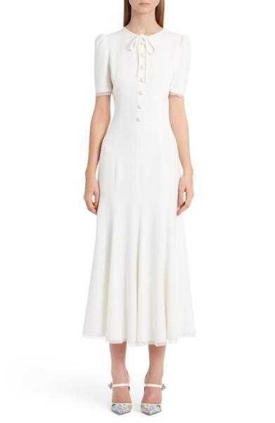 Dolce & Gabbana Designed Bianca Balti\'s Wedding Dress | WhoWhatWear
