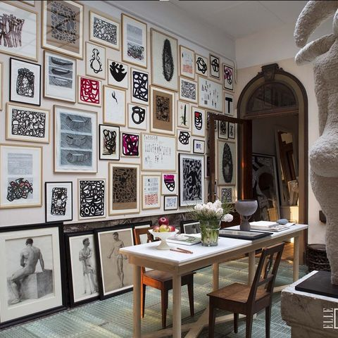 Inside the Art-Filled French Home of a Comme des Garçons Designer