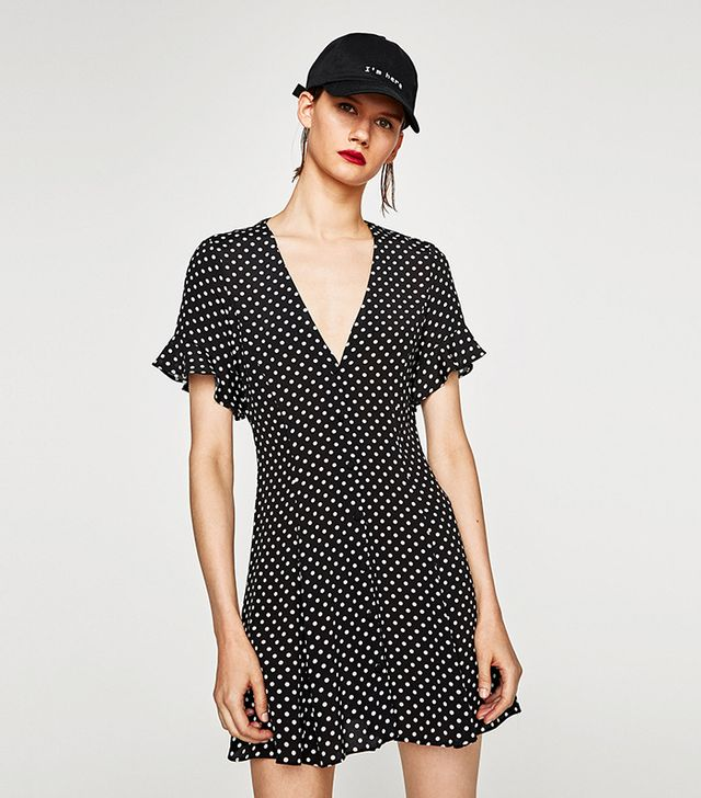 Mini Dress with Print