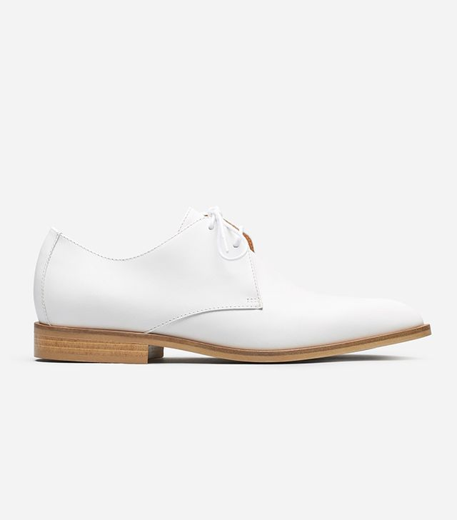 Women's Oxford Shoes by Everlane in White, Size 5