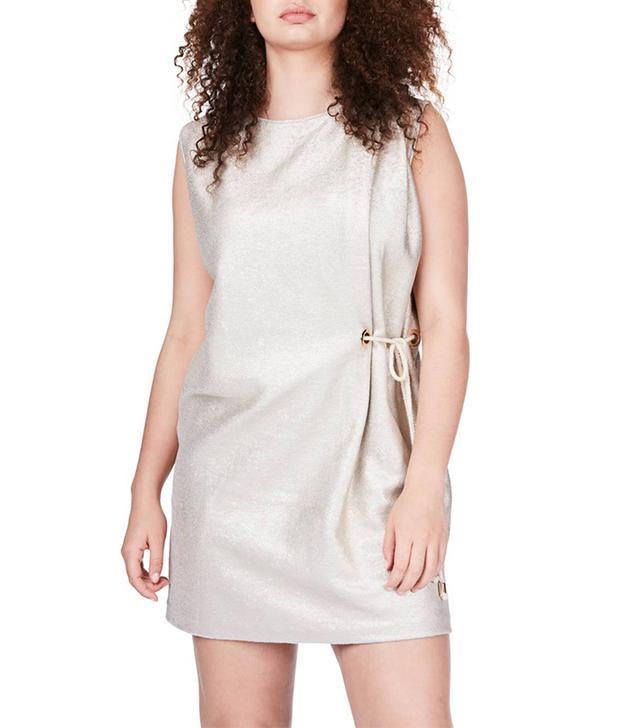 Plus Size Women's Elvi Side Tie Minidress