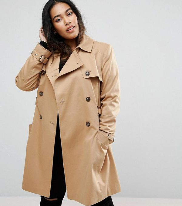 ASOS CURVE Classic Trench
