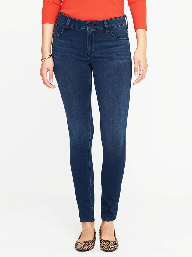 Old Navy Rockstar 24/7 Jeans in Rinse