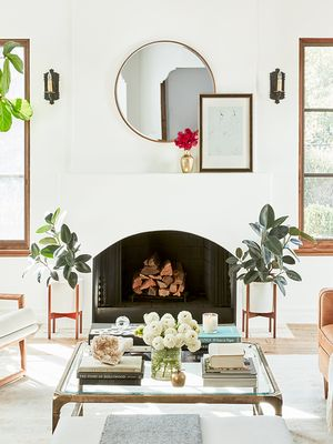 These 9 Fireplace Designs Will Give You Living Room Envy