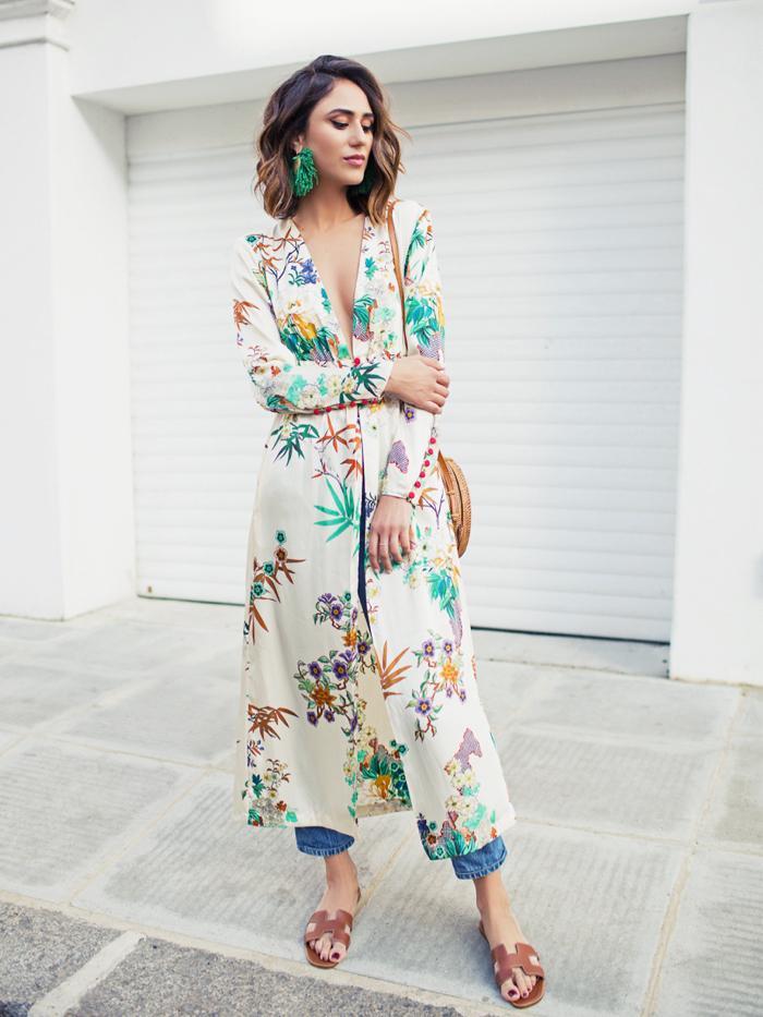 Soraya Bakhtiar wearing a kimono