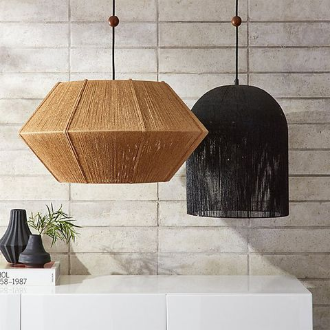 Love One Another Natural Pendant Light