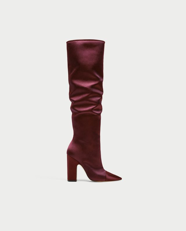 Zara High-Heel Boots
