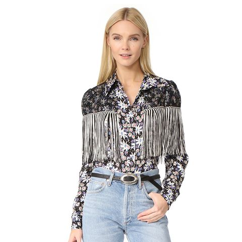 Oops a Daisy Fringe Top