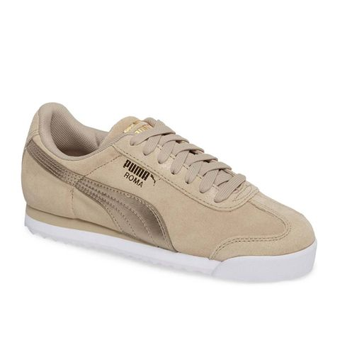 Roma Classic Metallic Safari Sneakers
