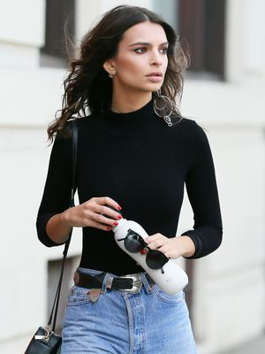 "Emily Ratajkowski Says This Skinny-Jean Style Is ""a Little Crazy"""
