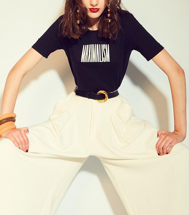 Monogram Maximalism French Cut T-Shirt
