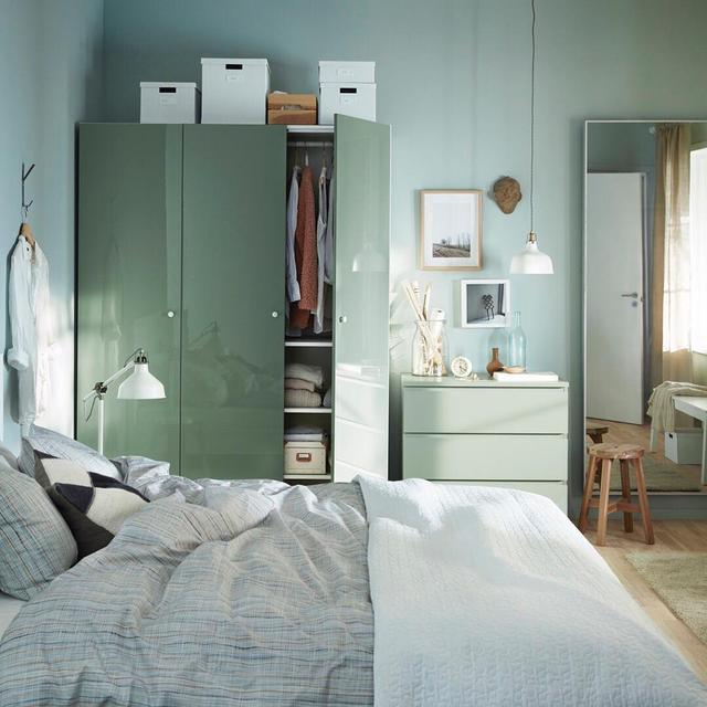 Ikea bedroom closet