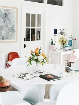 Leave It to Johnny Cash's Granddaughter to Style a Workspace This Chic
